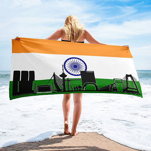 Handdoekvlag DreamSkyLine Unity India