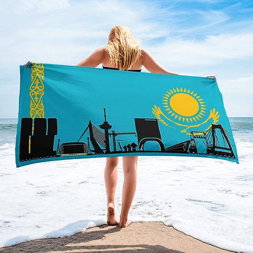 Handdoekvlag DreamSkyLine Unity Kazachstan