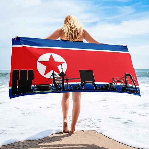 Handdoekvlag DreamSkyLine Unity Noord-Korea