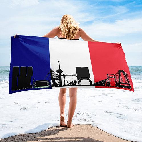 Handdoekvlag DreamSkyLine Unity Frankrijk