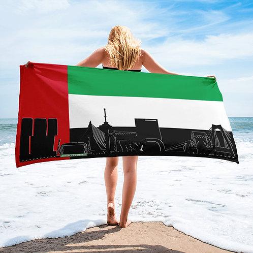 Handdoekvlag DreamSkyLine Unity Verenigde Arabische Emiraten
