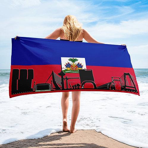 Handdoekvlag DreamskyLine Unity Haiti