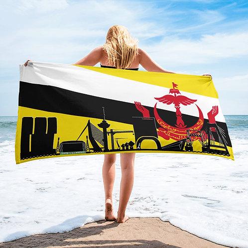 Handdoekvlag DreamSkyLine Unity Brunei