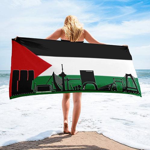 Handdoekvlag DreamSkyLine Unity Palestina