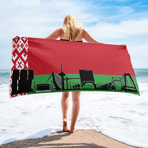 Handdoekvlag DreamSkyLine Unity Wit Rusland