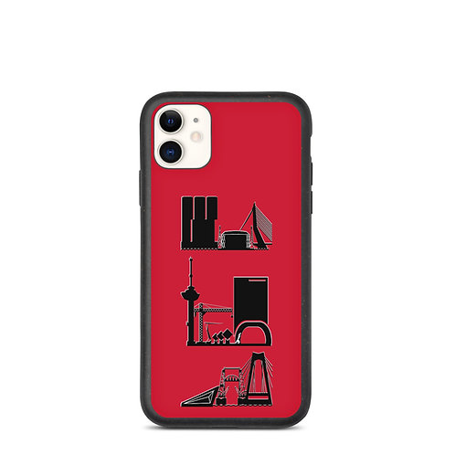 IPhone Case Red DreamSkyLine ToTem Black