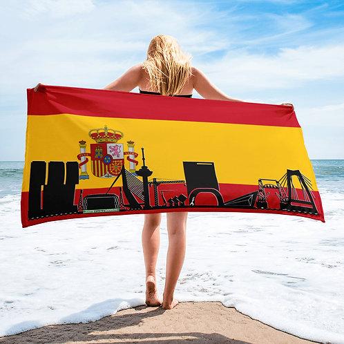 Handdoekvlag DreamSkyLine Unity Spanje