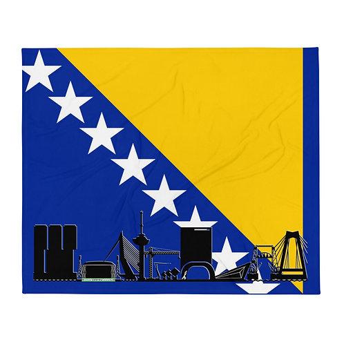 Dekenvlag DreamSkyLine Unity Bosnië en Herzegovina