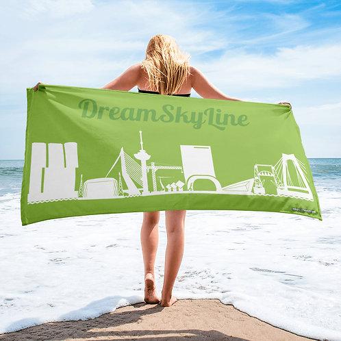 Sublimatie Handdoek Greenleave DreamSkyLine Unity White