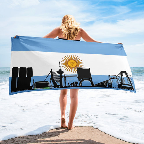 Handdoekvlag DreamSkyLine Unity Argentinë