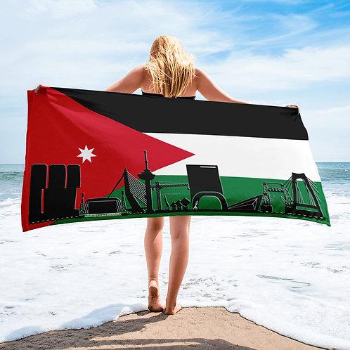 Handdoekvlag DreamSkyLine Unity Jordan