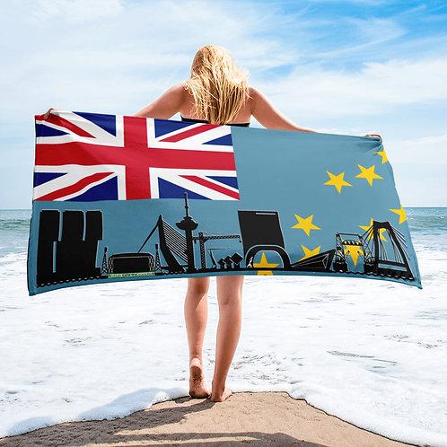 Handdoekvlag DreamSkyLine Unity Tuvalu