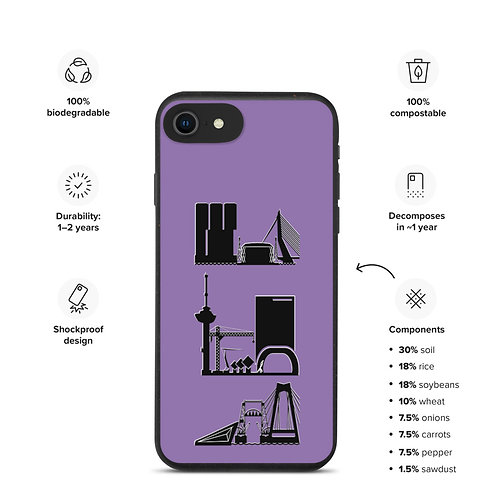 IPhone Case Pink DreamSkyLine ToTem Black