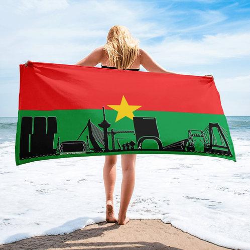 Handdoekvlag DreamSkyLine Unity  Burkina Faso