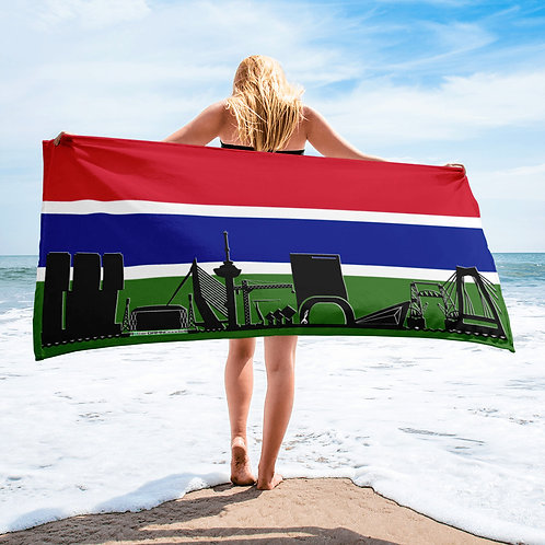 Handdoekvlag DreamSkyLine Unity Gambia