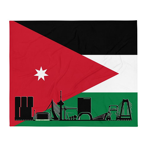 Dekenvlag DreamSkyLine Unity Jordanië