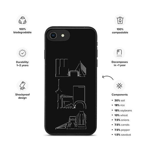 IPhone Case Black DreamSkyLine ToTem Black