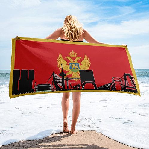 Handdoekvlag DreamSkyLine Unity Montenegro
