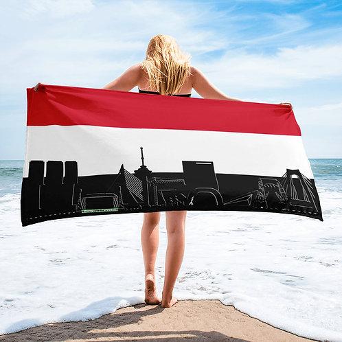 Handdoekvlag DreamSkyLine Unity Jemen