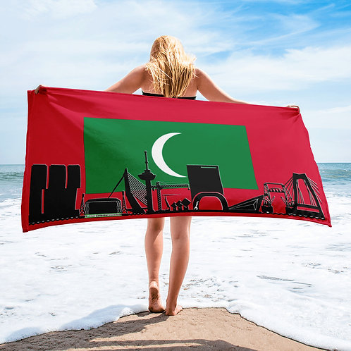 Handdoekvlag DreamSkyLine Unity Maldives