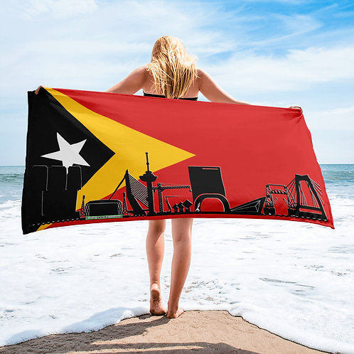 Handdoekvlag DreamSkyLine Unity Oost-Timor