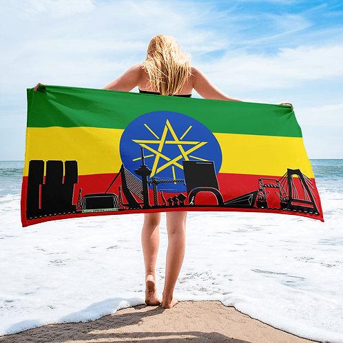 Handdoekvlag DreamSkyLine Unity Ethiopië