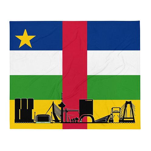 Dekenvlag DreamSkyLine Unity Centraal Afrikaanse Republiek