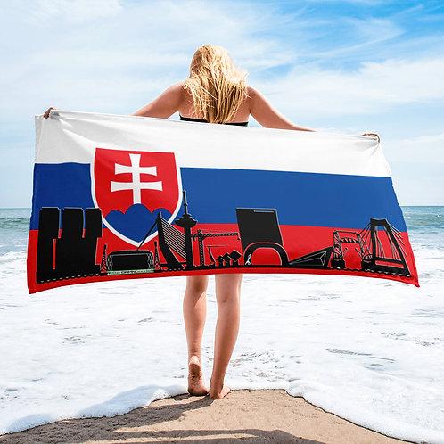 Handdoekvlag DreamSkyLine Unity Slowakije