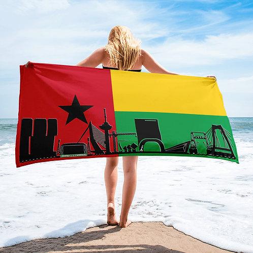 Handdoekvlag DreamSkyLine Unity Guinea Bissau