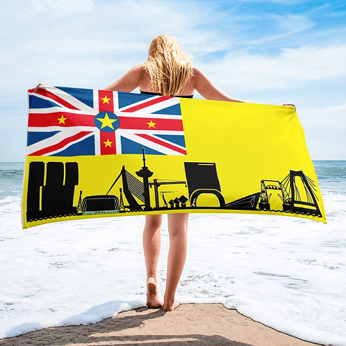 Handdoekvlag DreamSkyLine Unity Niue