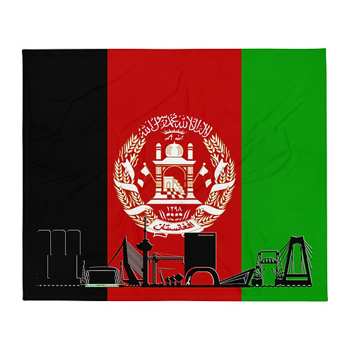 Dekenvlag DreamSkyLine Unity Afganistan