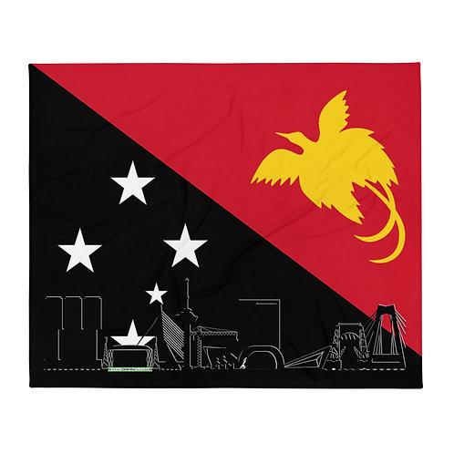 Dekenvlag DreamSkyLine Unity Papua nieuw Guinea