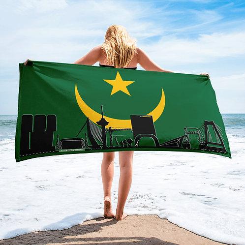 Handdoekvlag DreamSkyLine Unity Mauritanië