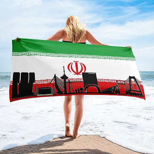 Handdoekvlag DreamSkyLine Unity Iran