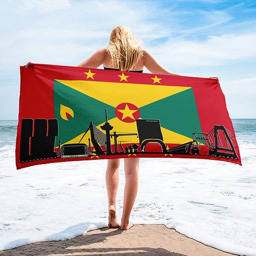 Handdoekvlag DreamskyLine Unity Grenada