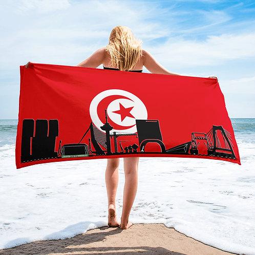 Handdoekvlag DreamSkyLine Unity Tunesië