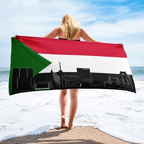 Handdoekvlag DreamSkyLine Unity Sudan