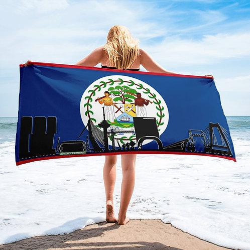 Handdoekvlag DreamskyLine Unity Belize