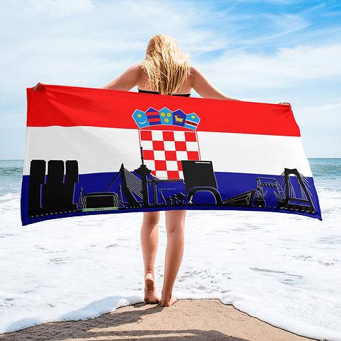 Handdoekvlag DreamSkyLine Unity Kroatië