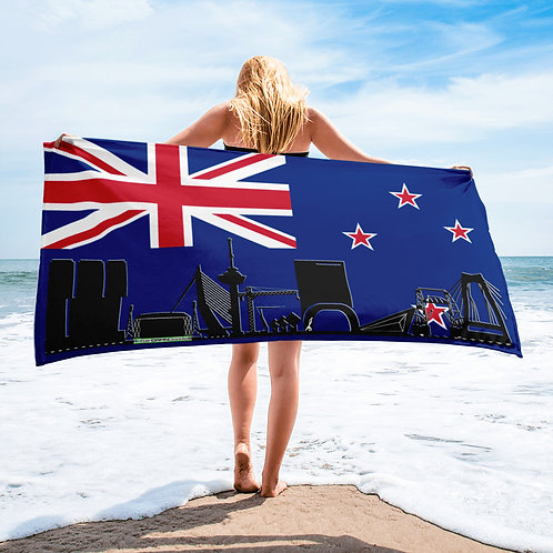 Handdoekvlag DreamSkyLine Unity Nieuw Zeeland