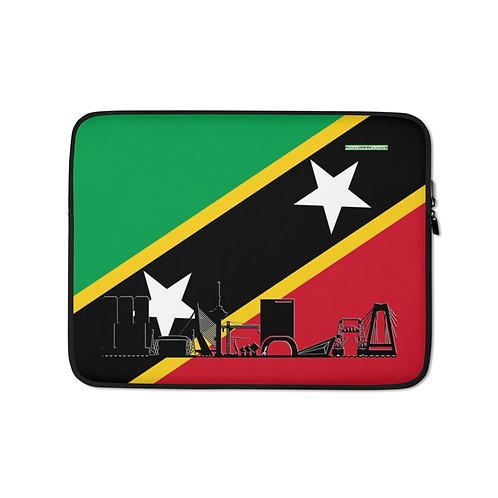 Laptopsleeve DreamSkyLine Unity Sint Kitts en Nevis