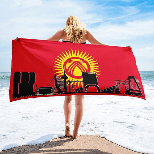Handdoekvlag DreamSkyLine Unity Kirgistan