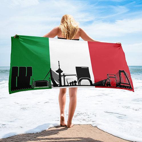 Handdoekvlag DreamSkyLine Unity Italië