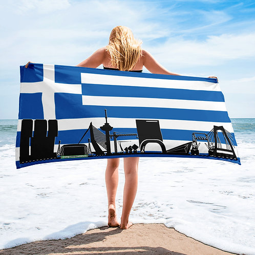 Handdoekvlag DreamSkyLine Unity Griekenland