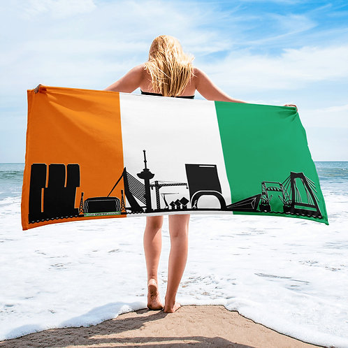 Handdoekvlag DreamSkyLine Unity Ivoorkust