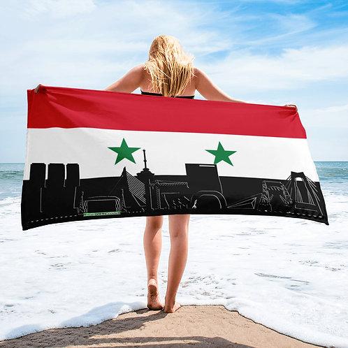 Handdoekvlag DreamSkyLine Unity Syrië