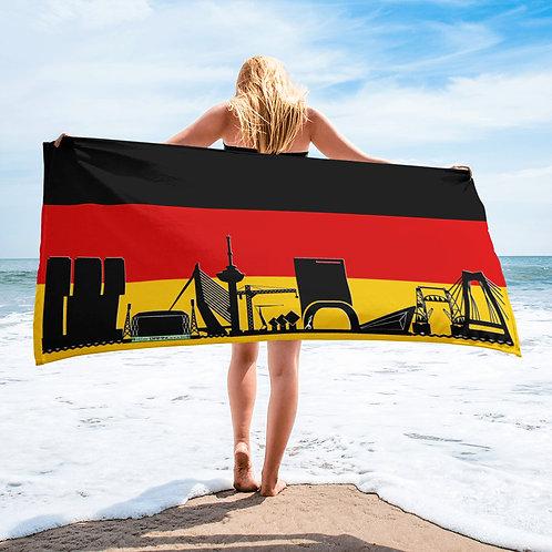 Handdoekvlag DreamSkyLine Unity Duitsland