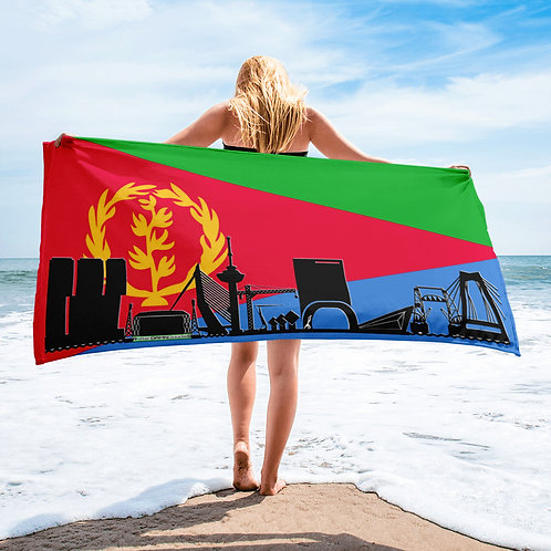 Handdoekvlag DreamSkyLine Unity Eritrea