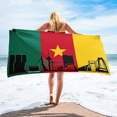 Handdoekvlag DreamSkyLine Unity Kameroen