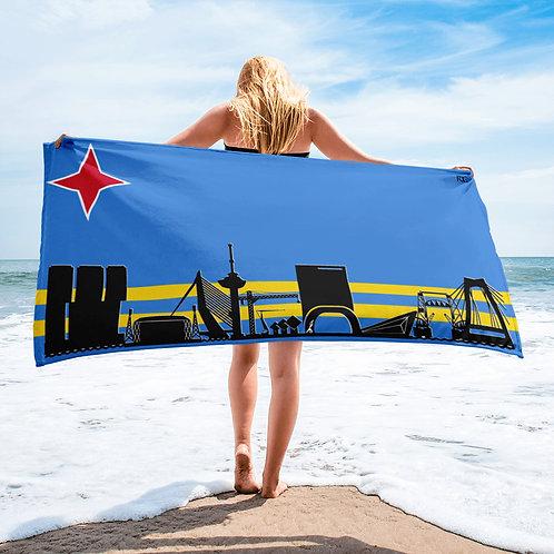 Handdoekvlag DreamSkyLine United Aruba